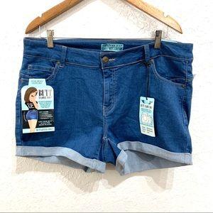 Wax Jeans Butt I Love You Push-Up Shorts Medium